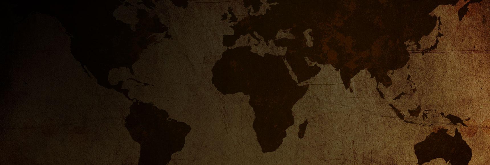 brown world map